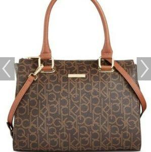 Calvin klein bag new brown tan